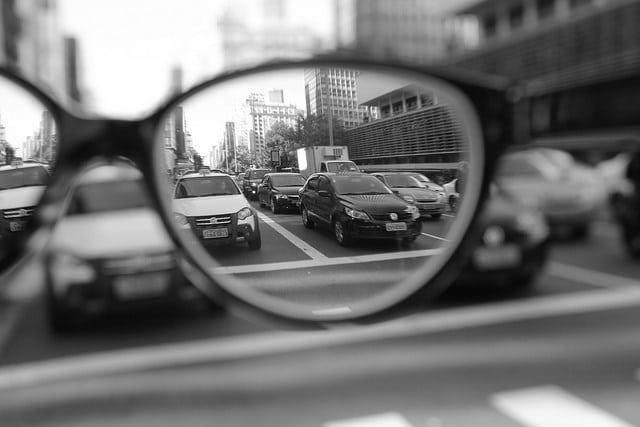 tipos de problemas de visão