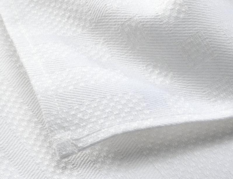 close de uma toalha de rosto