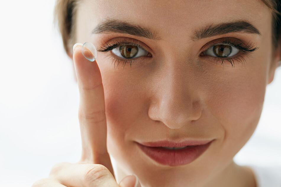 lentes de contato bioview