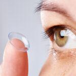 Colírio para quem usa lente de contato