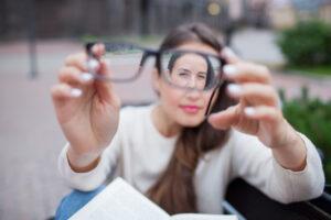 Lentes de contato para miopia